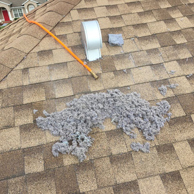 How do dryer vents get cleaned?